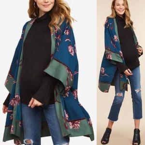 Jessica Simpson | Floral Kimono One Size Fits All